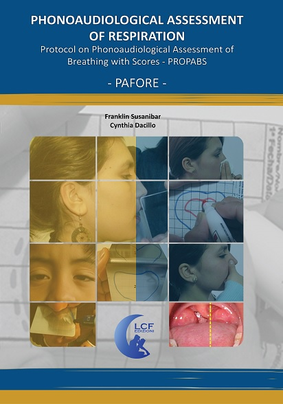 PROTOCOL MANUAL ON THE PHONOAUDIOLOGICAL ASSESSMENT OF BREATHING WITH SCORING - PROPABS